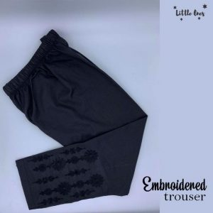 Kids Embroidered Trouser